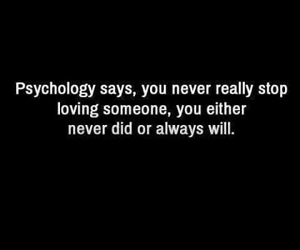 love, quote, and psychology image