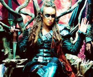 the 100, lexa, and heda image