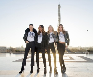 eiffel tower, fashion show, and inspiration image