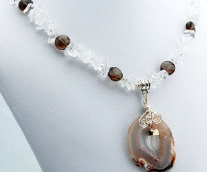 beaded necklace, handmade jewelry, and designer jewelry image