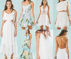 dress, hawaii, and hawaiian image