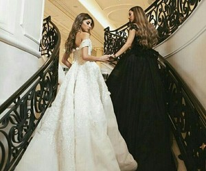 dress, goals, and friends image
