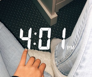aesthetic, hand, and jeans image