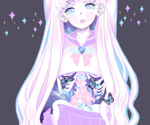 kawaii, anime, and pastel image