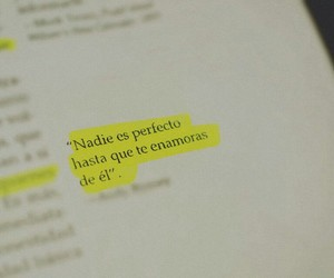 love, perfect, and frases image