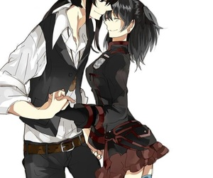 anime couples, kanlena, and dgm image