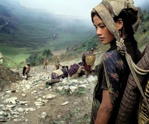 woman, nepal, and asia image