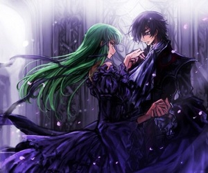 code geass, anime, and c.c. image