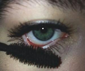 grunge, eyes, and makeup image