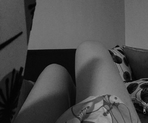 bed, legs, and white image