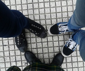 feets, heart, and girls image