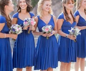 bridesmaid dress, bridesmaid dresses, and short bridesmaid dress image