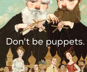 motivation, puppets, and quotes image