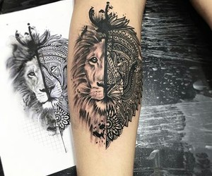 art, black, and ink image