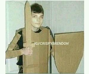 cardboard, emo, and frank iero image