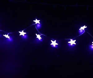 purple, light, and stars image