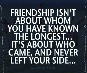friendship, quote, and true image