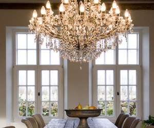 home, chandelier, and design image