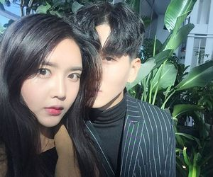 aesthetic, asian, and couple image