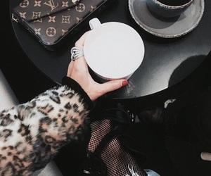 fashion, coffee, and denim image