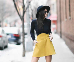 women skirt, skirts fashion, and women classic skirts image