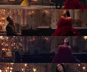 beauty and the beast, ariana grande, and disney image