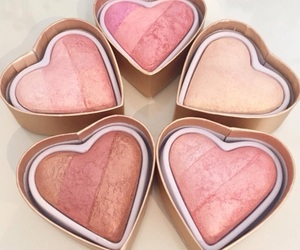 beauty, pink, and heart image