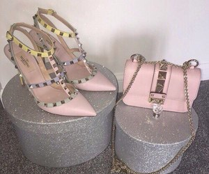 shoes, Valentino, and bag image