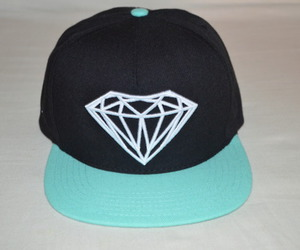 diamond, dope, and hat image
