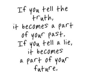 quotes, truth, and lies image