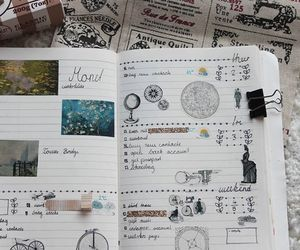 bullet, filofax, and journal image