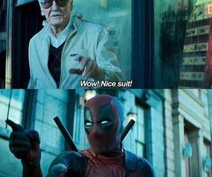 deadpool and stan lee image