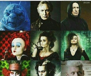 alice in wonderland and harry potter image