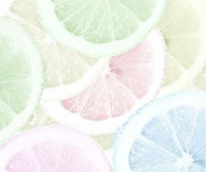 pastel, lemon, and wallpaper image