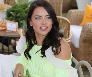 Adriana Lima, clothes, and hair image