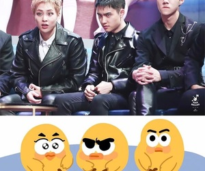 exo, kyungsoo, and osh image