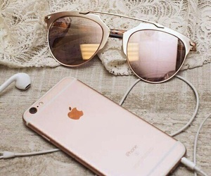 apple, iphone, and sunglasses image