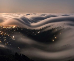 clouds, city, and travel image