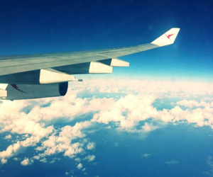adventure, aeroplane, and clouds image