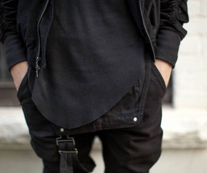black, boy, and clothes image