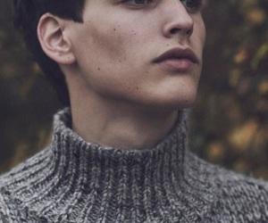 boy, model, and autumn image