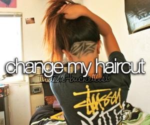 change and hair image