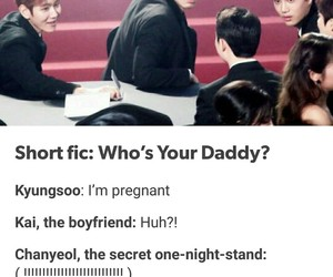 daddy, exo, and funny image