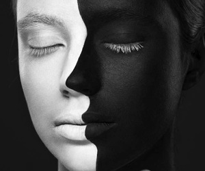 black and white, art, and white image