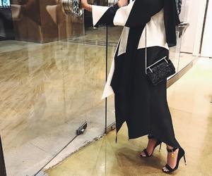 hijab, modest, and abaya image