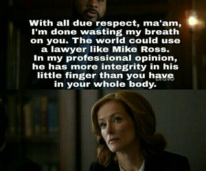 quotes, tv show, and ‎suits image