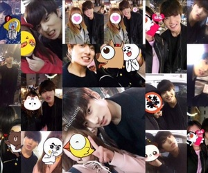 adorable, cute, and taking photos with fans image