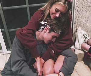 cute couple, goals, and moments image