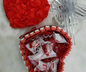 box, chocolat, and coeur image