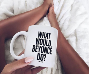 beyoncé, mug, and quote image